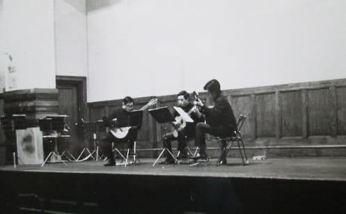 1969年11月 初回演奏会 第2部ギター3重奏