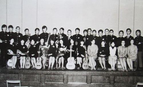 1969年11月 初回演奏会 記念撮影