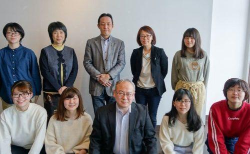 現役生との懇談会集合写真(2019年3月24日)