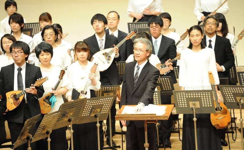 50周年記念演奏会での指揮者