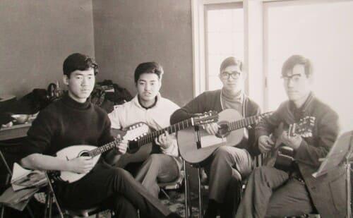 1968年1月 智明寮にて最初の合宿