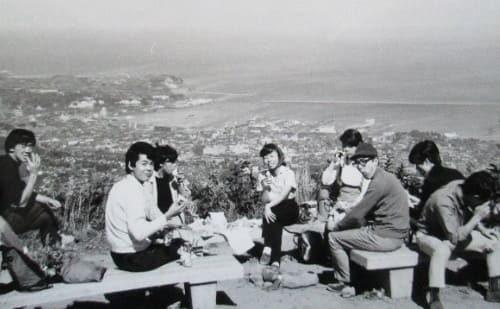 1969年9月 天狗山ハイキング